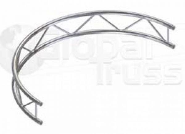 GlobalTruss F22 Kreisstück V für Kreis 10,0m Ø / 1