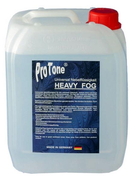 Pro Tone Nebelfluid Heavy Fog 5L