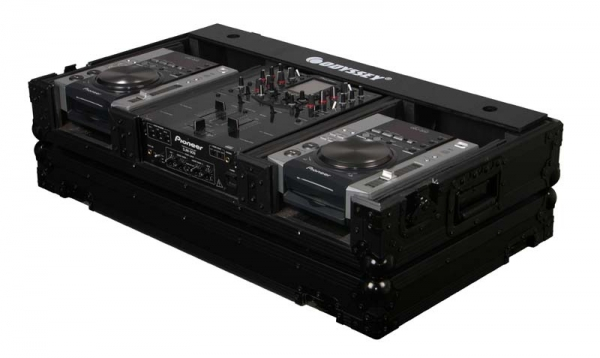 Odyssey DJ Set Case 10 / Player Medium SCHWARZ Flightcase (FZ10CDiWBL)