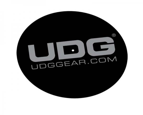 UDG Slipmat Set Schwarz/Silber (U9936) (Paar)