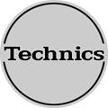 Technics Slipmat Outbreak silber/schwarz