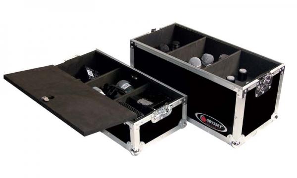 Odyssey Mikrofon Case für 18 Stück (FZMIC18)