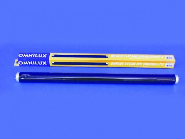 OMNILUX UV-Röhre 20W G13 600 x 38mm T12