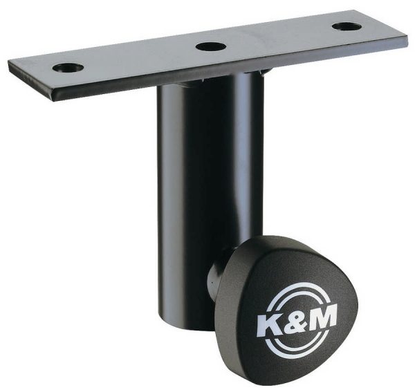 K&M 24281 Anschraubflansch schwarz