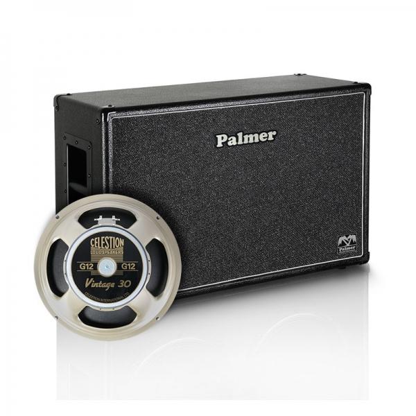 Palmer MI Custom Made Cabinets - Gitarrenbox 2 x 12Zoll Celestion Vintage 30 - 8/16 Ohm Open Back