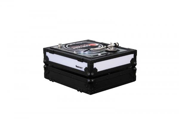 Odyssey DJ Plattenspieler Case Rechts Schwarz LED Flightcase (FFX2RBM1200BL)