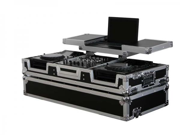 Odyssey DJ Set Case 12 / Player Large Glide Standard Flightcase (FZGSX12CDJW)