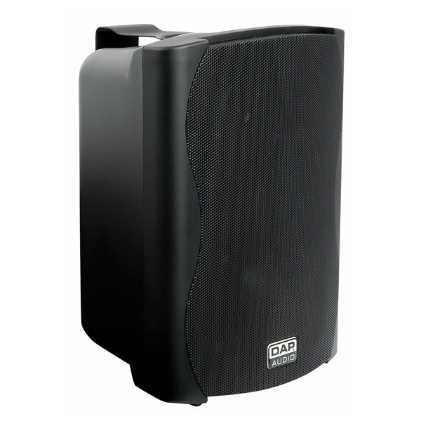 DAP PRA-82 Speaker Black 125W+Amp 2 way (Paar)