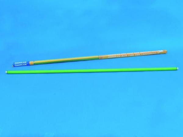 OMNILUX Röhre 58W 1500x26mm Farbglas grün