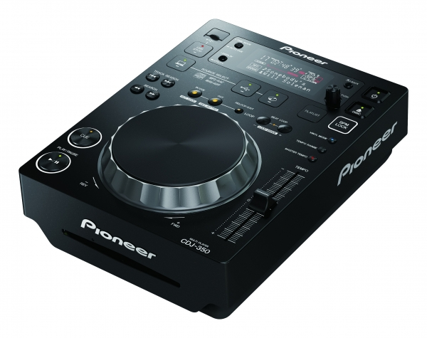 Pioneer CDJ-350-K (Schwarz) CD-MP3-USB Single CD-Player