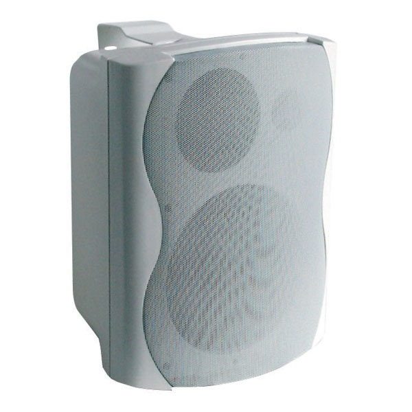 DAP PRA-82 Speaker White 125W+Amp 2 way (Paar)