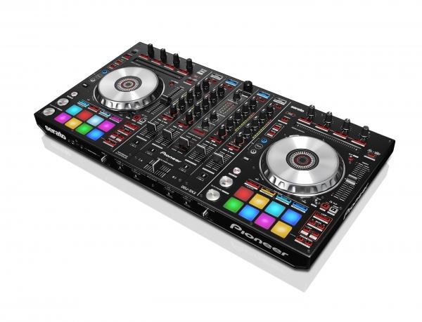 Pioneer DDJ-SX2 4-Kanal Serato DJ-Controller mit Performance-Pads