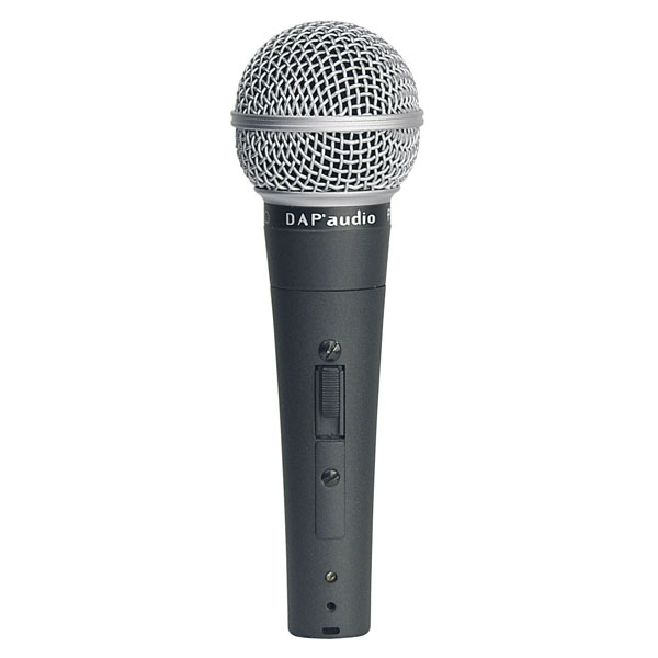 DAP PL-08S Microphone with On/Off Switch with 6mtr cable
