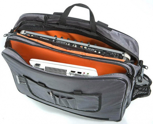 UDG CourierBag Deluxe 15 Stahlgrau/Orange innen (U9448)