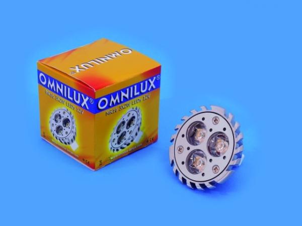 OMNILUX MR16 12VGU5.3 3x2WLED 6500K KR30°