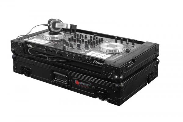 Odyssey DJ Controller Case Schwarzes Flightcase (FZPIDDJSXBL)