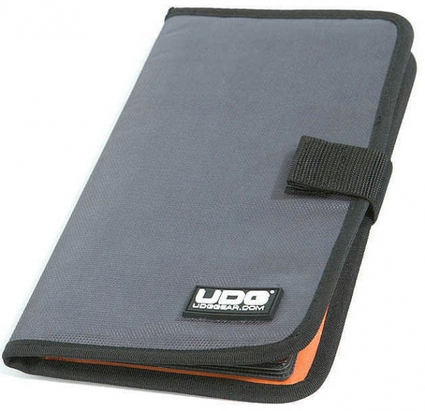 UDG CD Wallet 24 Stahlgrau/Orange innen (U9980SG/OR)