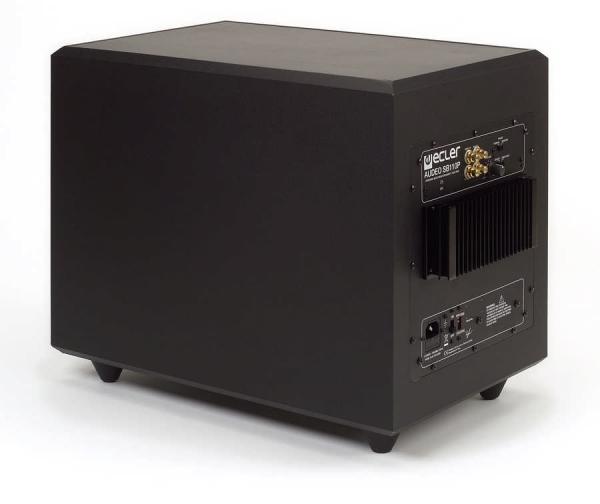 Ecler Audeo SB110P schwarz (Stück)
