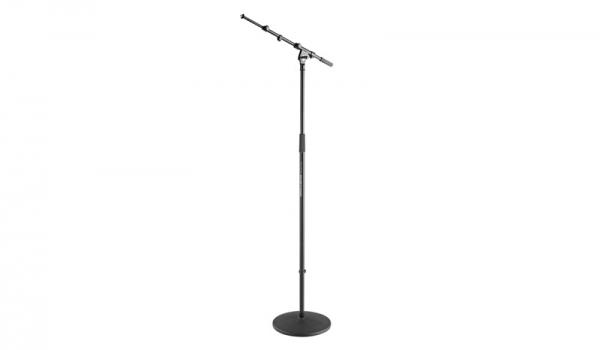 K&M 26145 Mikrofonstativ schwarz