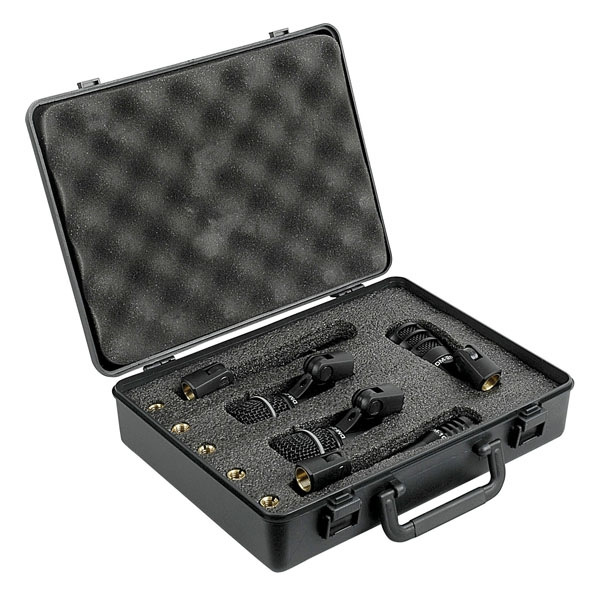 DAP DK-5 Drumset Microphone set 2 x Condenser & 3