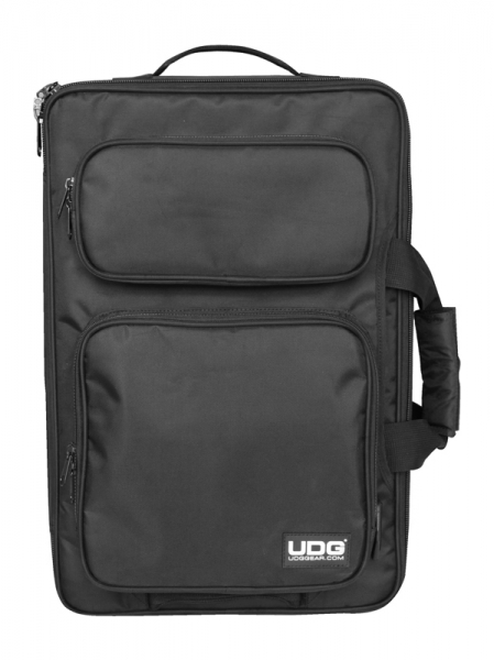 UDG Ultimate Midi Controller Rucksack MK2 Schwarz / Orange (U9103BL/OR)