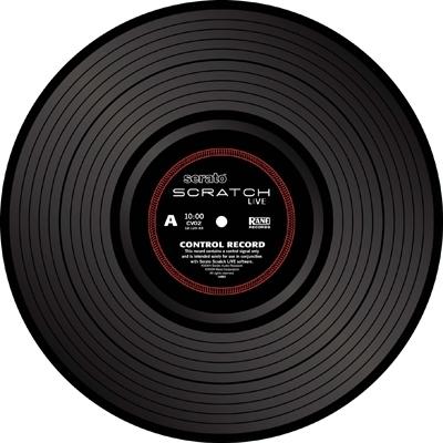 Rane SSL-Vinyl Schwarz