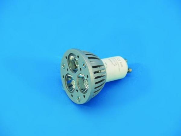 OMNILUX GU-10 230V 3x1W LED grün 30° KR