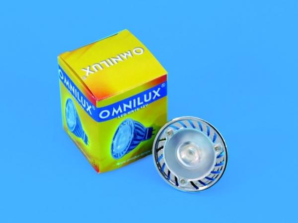 OMNILUX MR-16 12V GU5.3 3W LED gelb