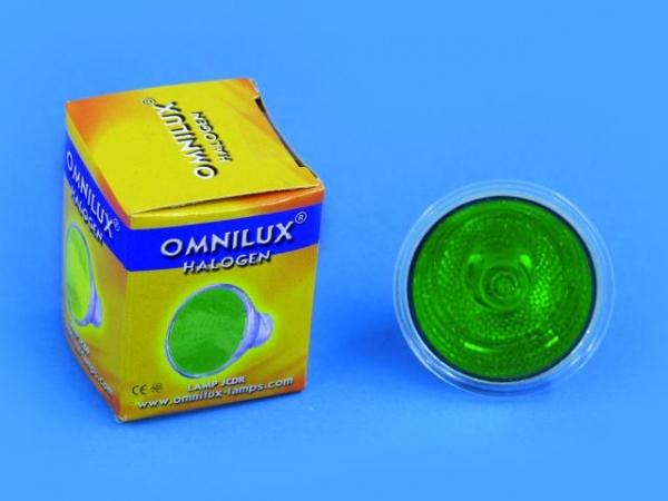 OMNILUX JCDR 230V/35W GX-5.3 1500h grün